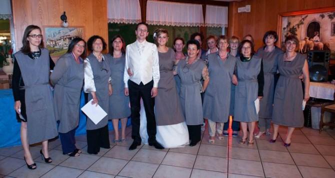 Oggi sposi: foto di gruppo