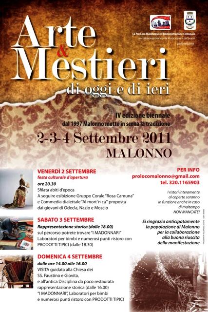 Malonno 2011 - Arte e mesrieri