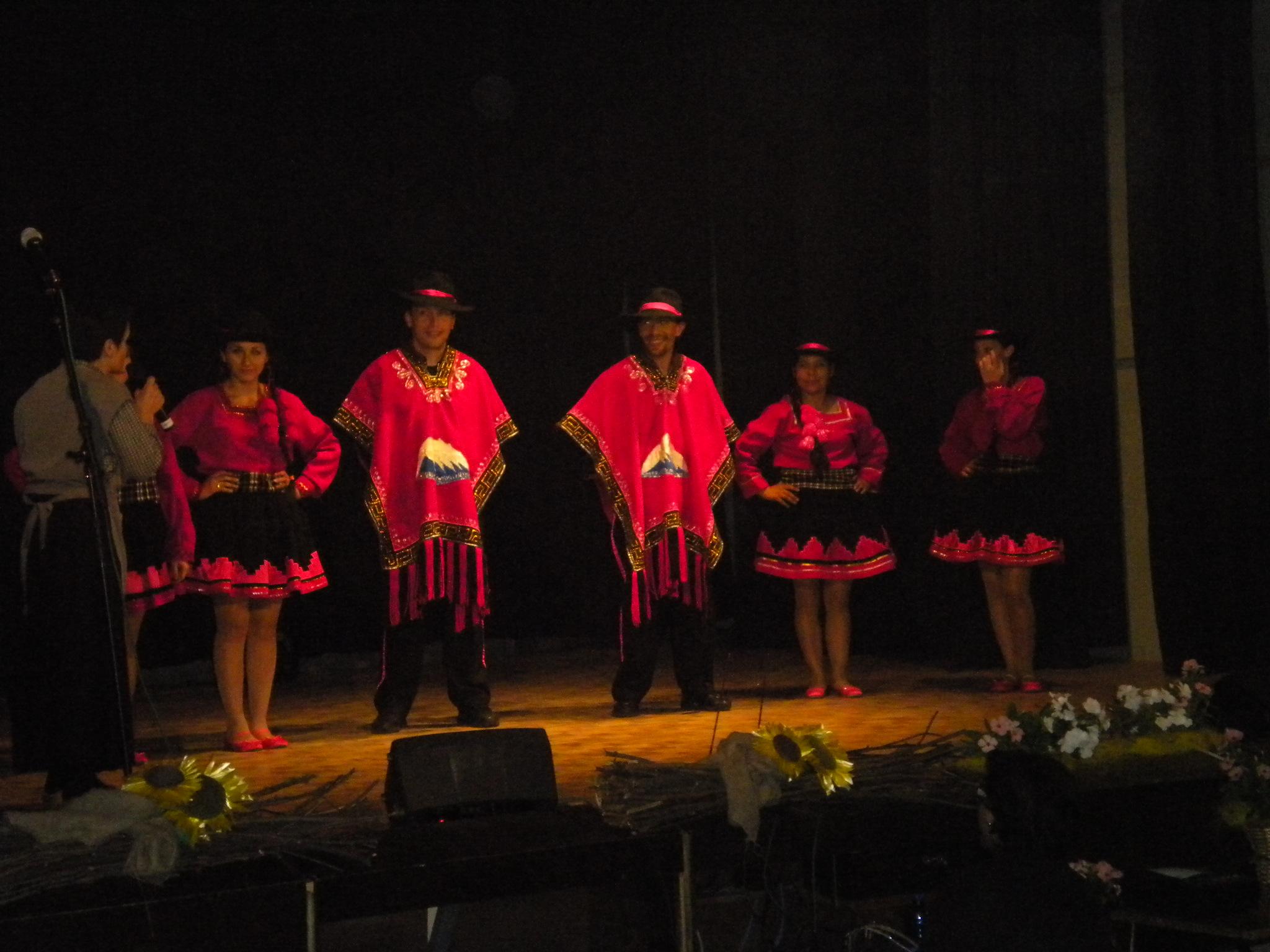 Il gruppo folklorico Yanapakuna